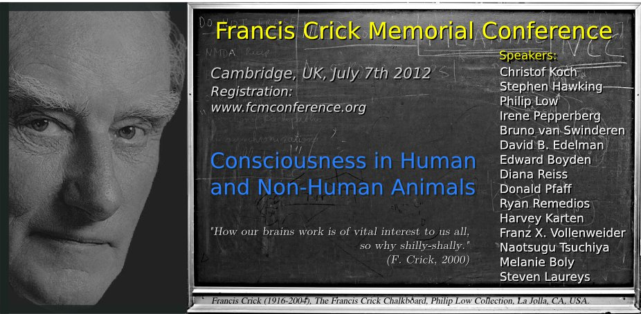 Francis Crick and Animal Consciousness